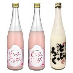 ピンクのどぶろく・どぶろくセット[冷凍便]